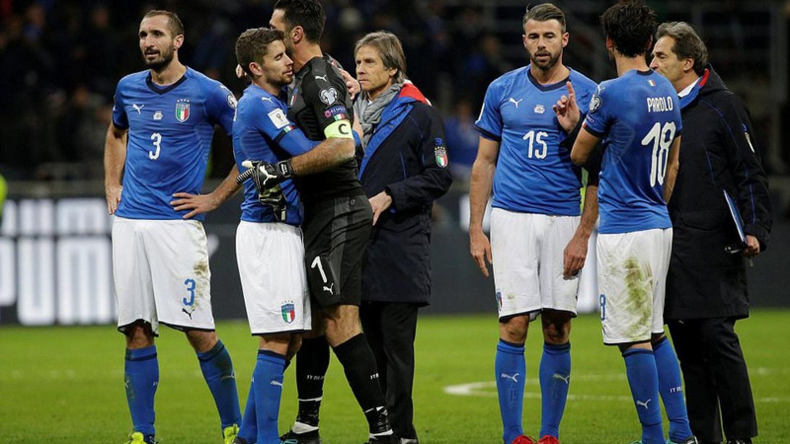 Ngày này năm xưa: ĐT Italy lần đầu lỡ hẹn World Cup sau 60 năm