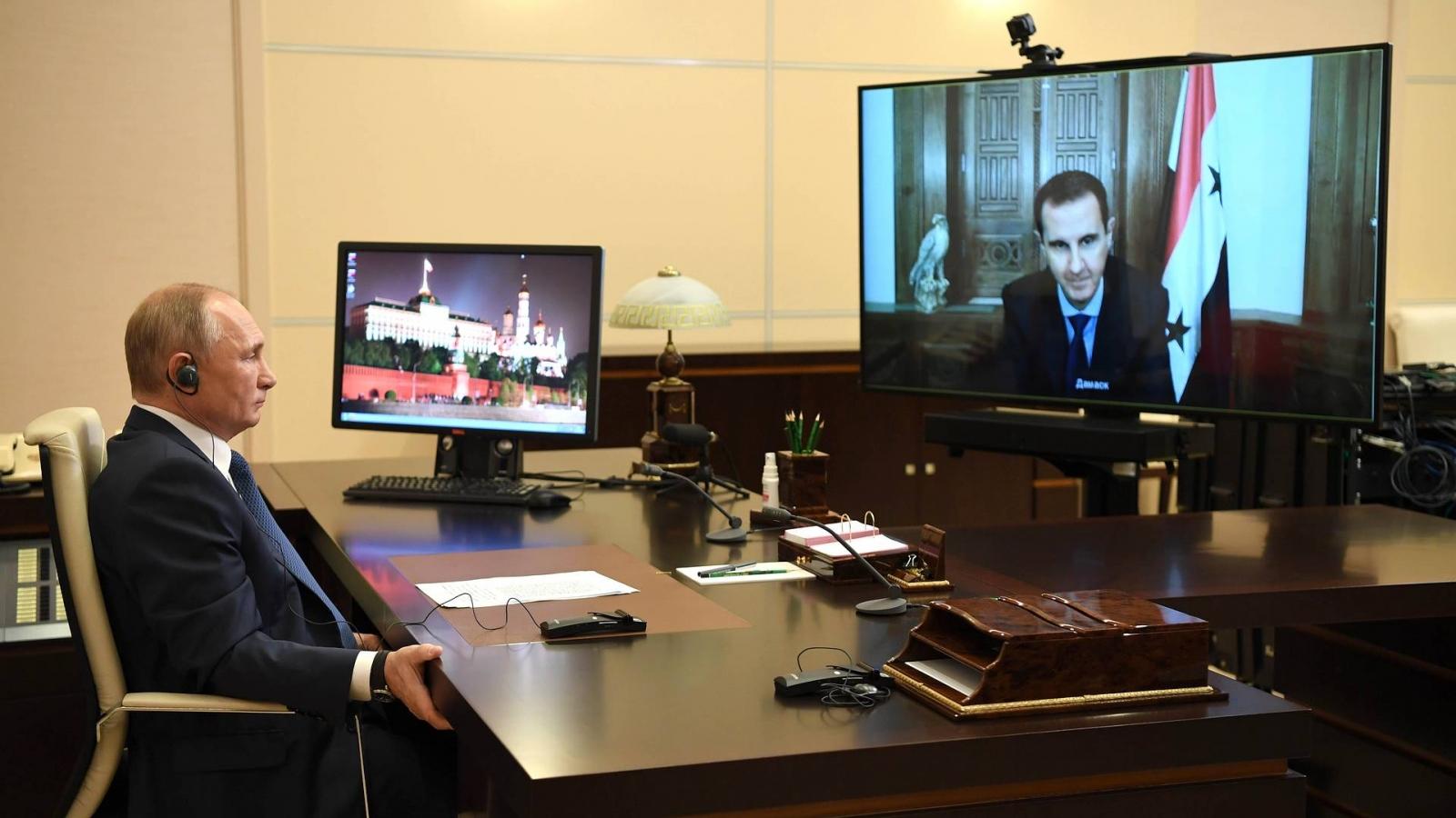 Tổng thống Nga V.Putin: Điểm nóng khủng bố quốc tế ở Syria thực sự được loại bỏ