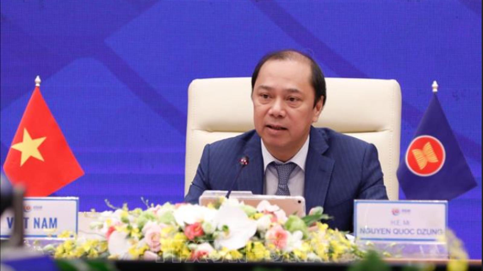 Quan chức cao cấp ASEAN họp trù bị cho Hội nghị cấp cao ASEAN 37