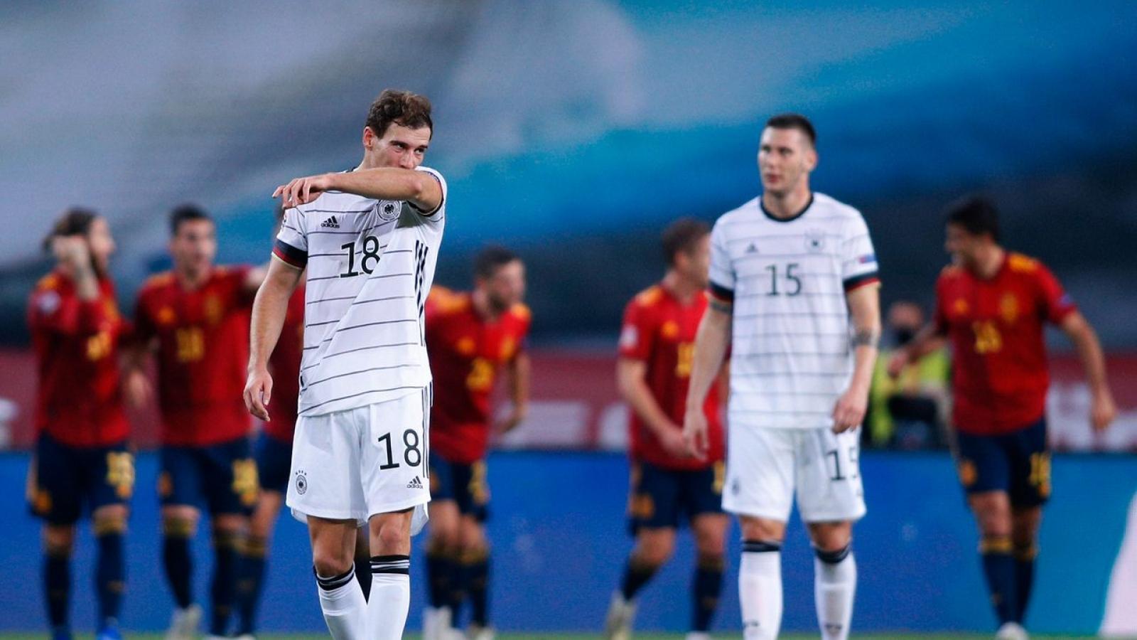 """""""Thảm bại"""" trước Tây Ban Nha, ĐT Đức nhận trận thua đậm nhất sau 89 năm"""