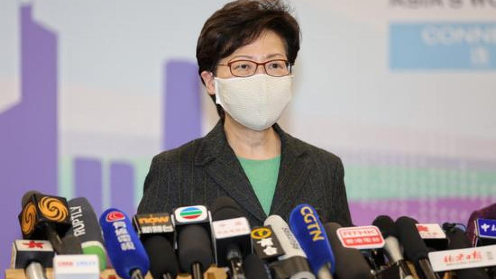 Trưởng đặc khu Hong Kong, Trung Quốc thăm Bắc Kinh