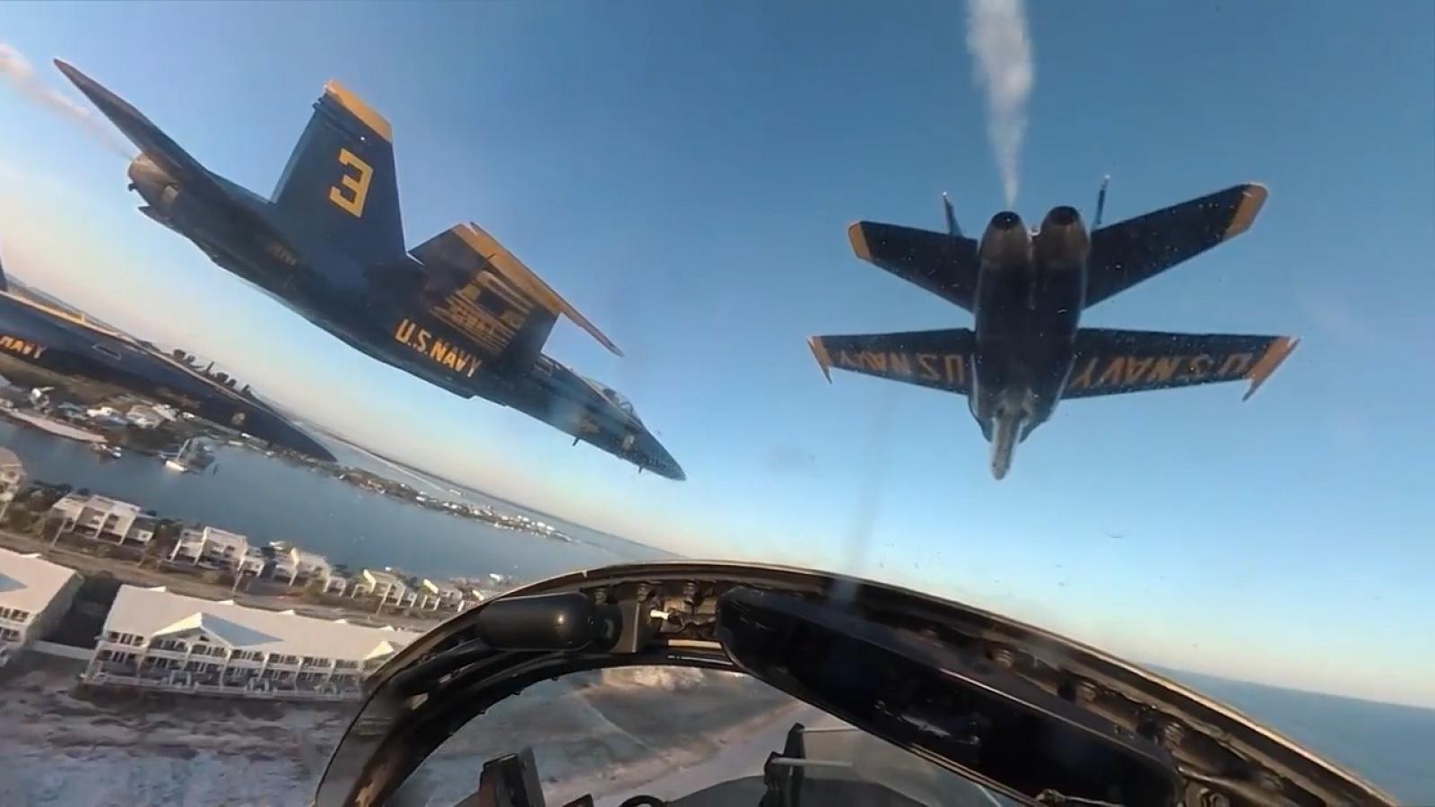 Chuyến bay cuối cùng kết thúc hành trình 34 năm của huyền thoại Hornet