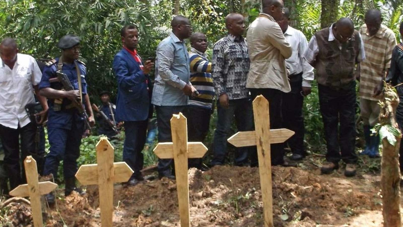 Thảm sát bằng súng ở Congo làm ít nhất 20 người thiệt mạng