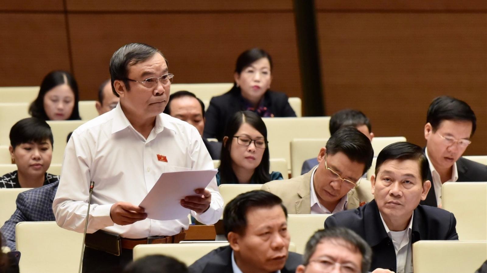 Đại biểu Quốc hội lo lắng về hậu quả của dịch bệnh và thiên tai