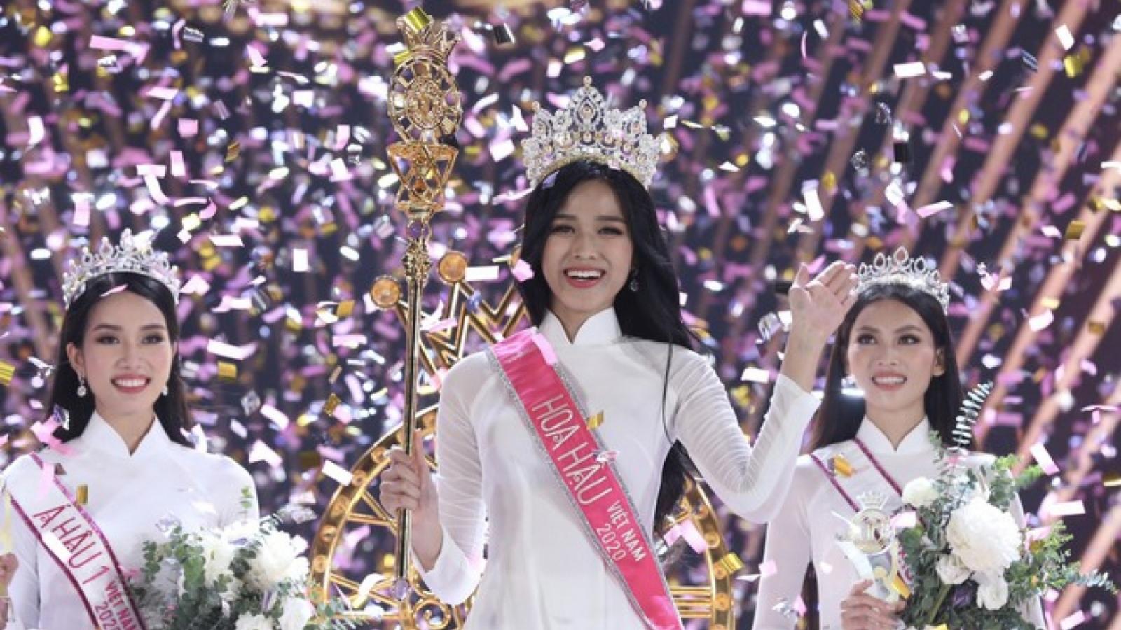 Do Thi Ha crowned Miss Vietnam 2020