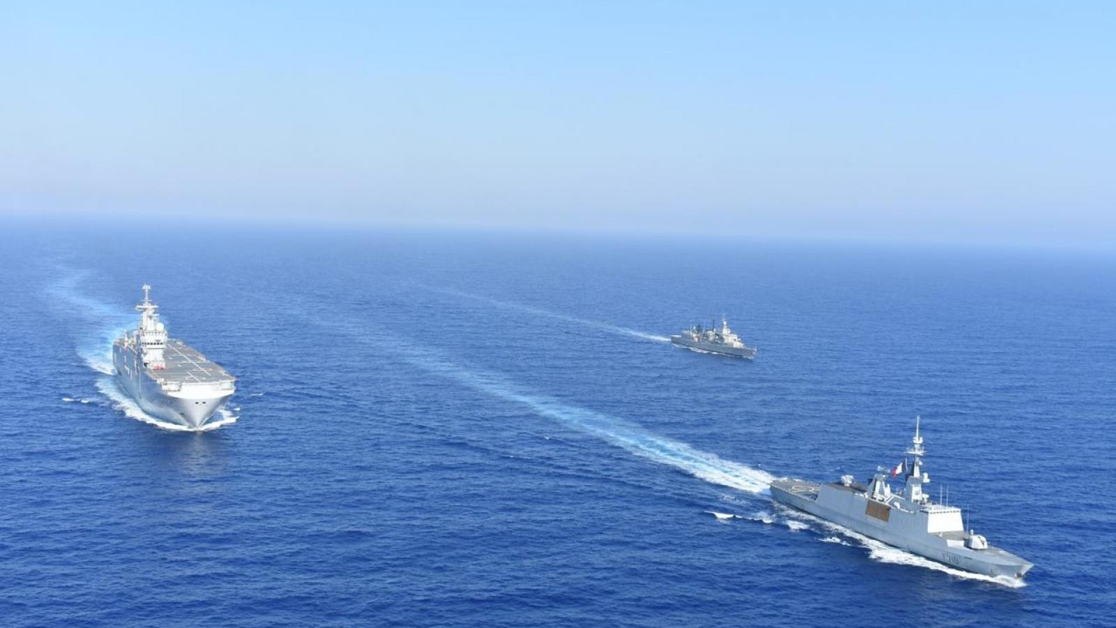 """Địa Trung Hải """"nóng"""" lên, Hy Lạp tính mua 4 khinh hạm mới của Mỹ"""