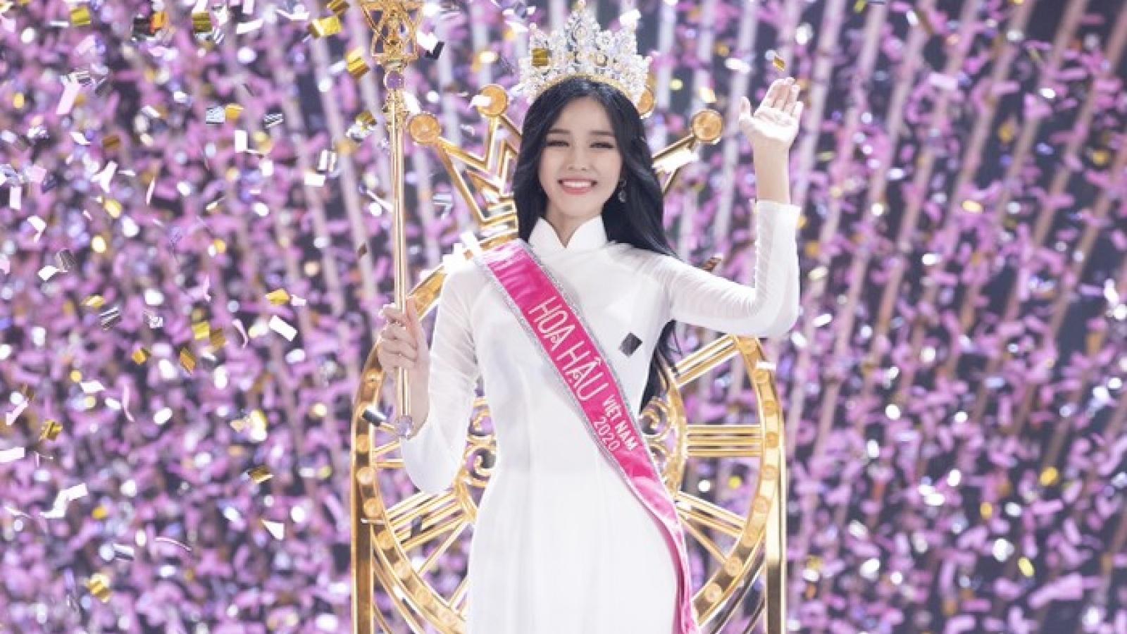 Chuyện showbiz: Tân Hoa hậu Việt Nam lên tiếng về phát ngôn thiếu chuẩn mực trên MXH
