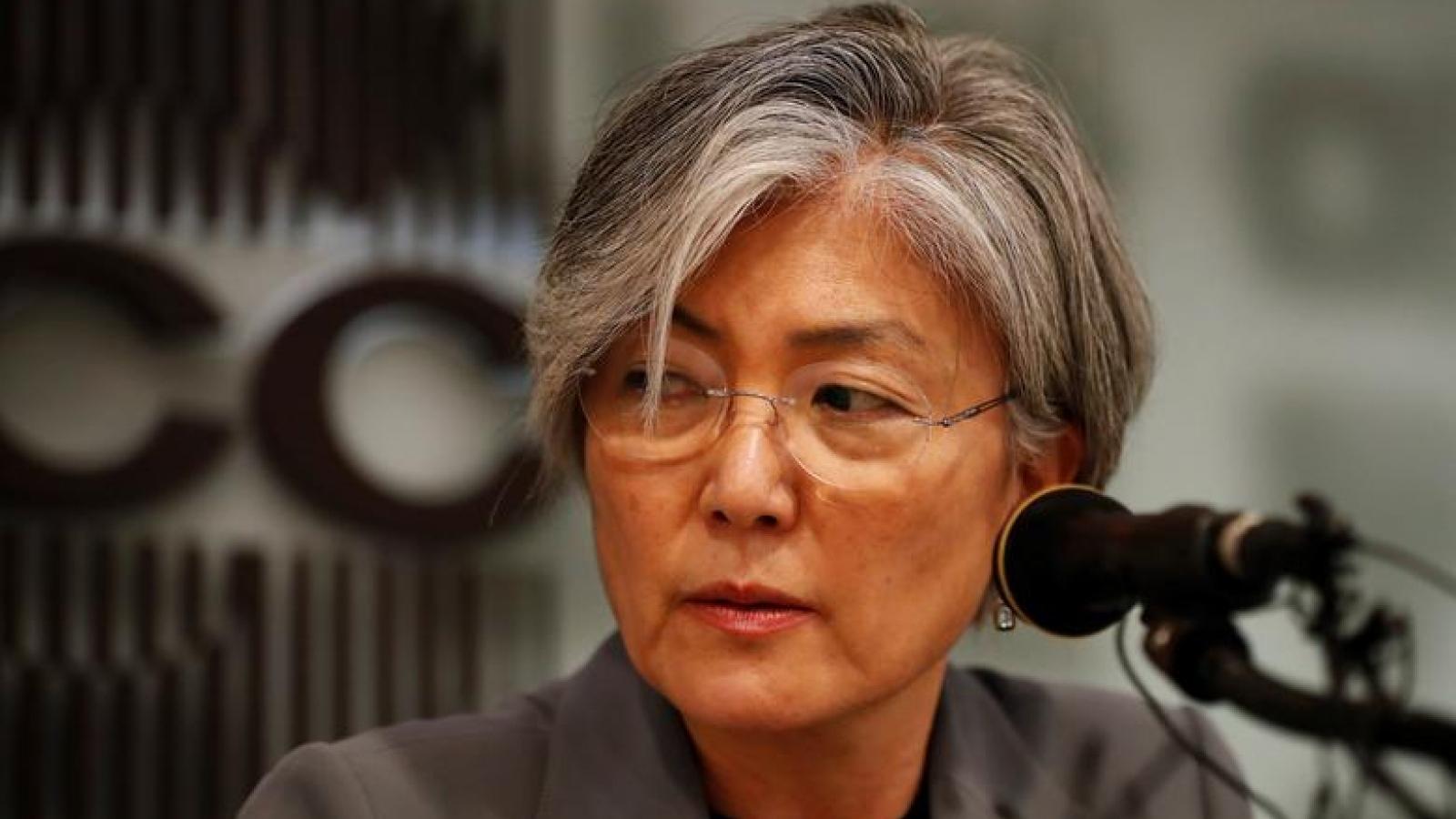 Bầu cử tổng thống Mỹ vừa kết thúc, Ngoại trưởng Hàn Quốc liền thăm Mỹ
