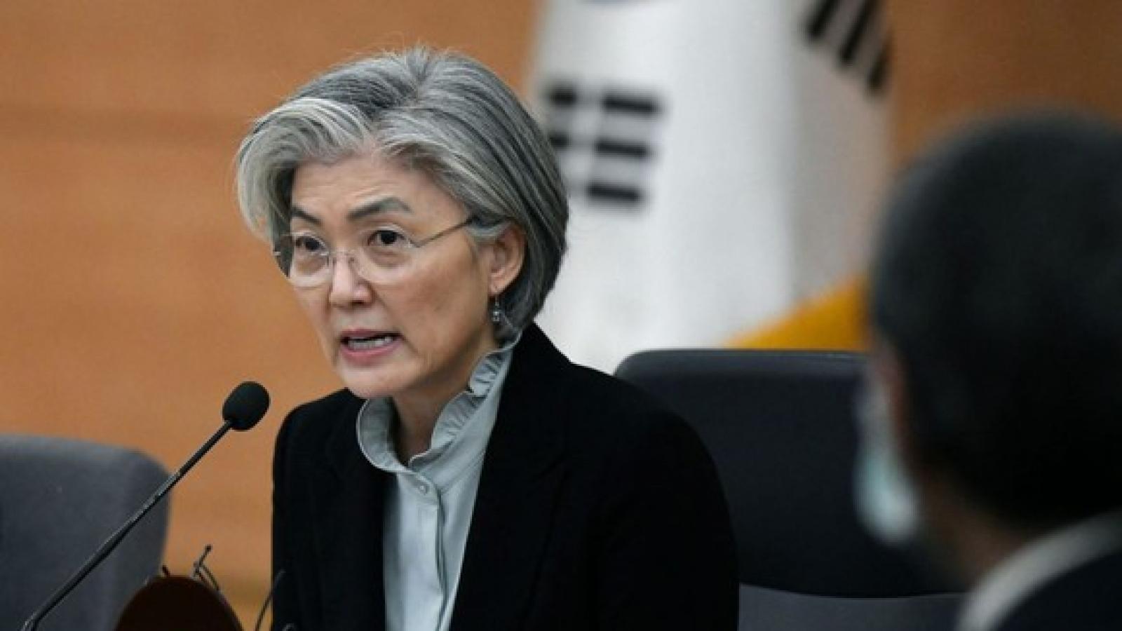 Ngoại trưởng Hàn Quốc: Chính quyền Biden sẽ không kiên nhẫn với Triều Tiên