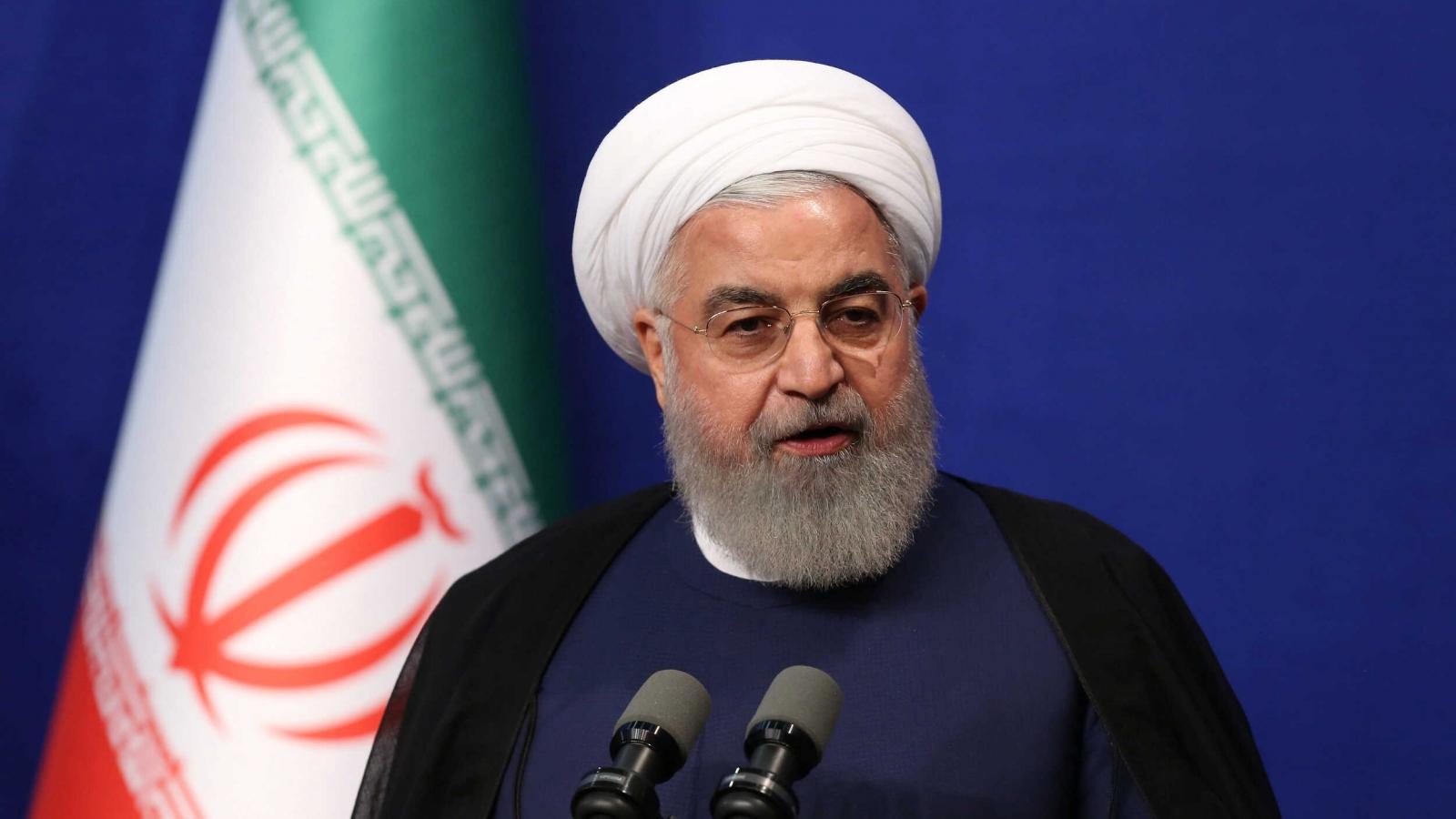 Tổng thống Iran: Thời của chính sách gây sức ép tối đa của Mỹ đã qua