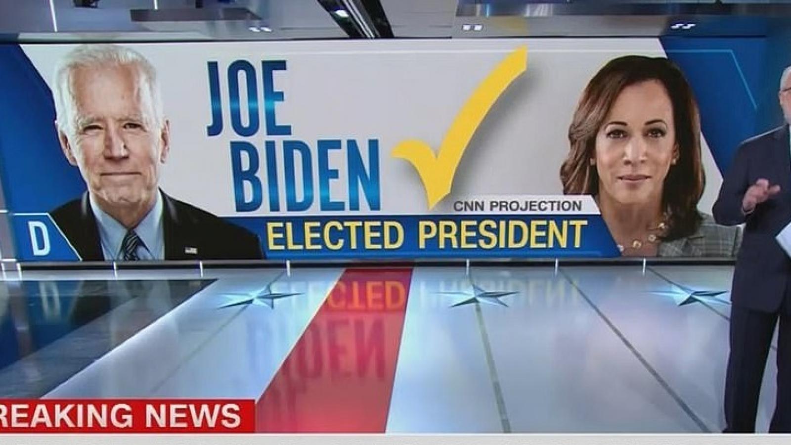 Thông tấn AP và hàng loạt đài truyền hình nói Joe Biden chiến thắng trong bầu cử Mỹ