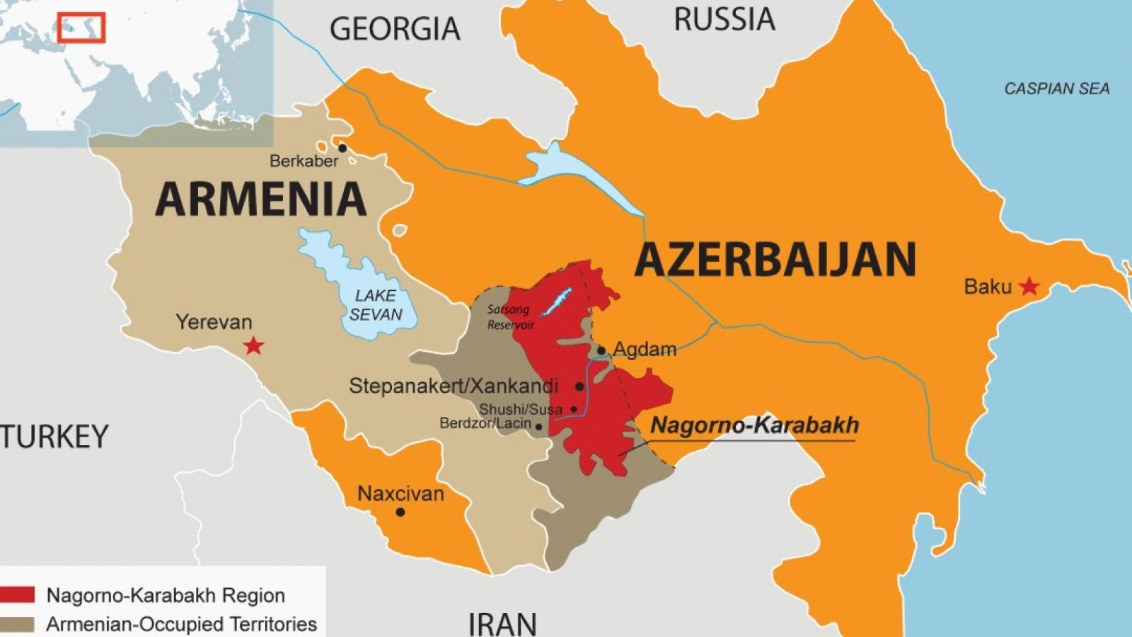 Thỏa thuận đình chiến Armenia-Azerbaijan là thảm họa chiến lược đối với Iran