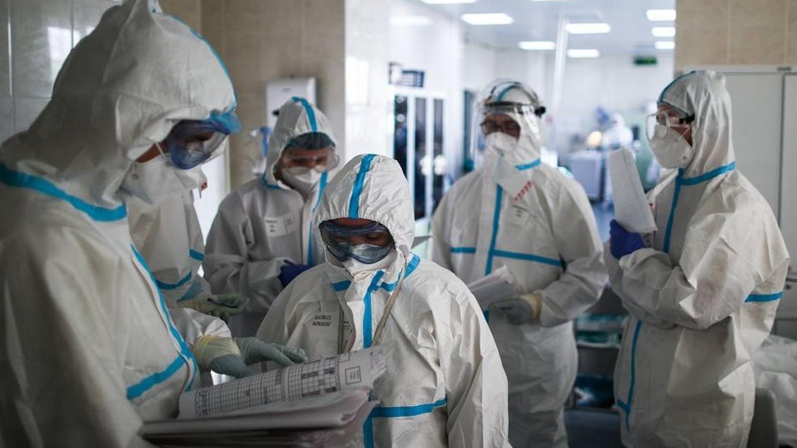 Nga ghi nhận gần 22.000 ca mắc mới Covid-19