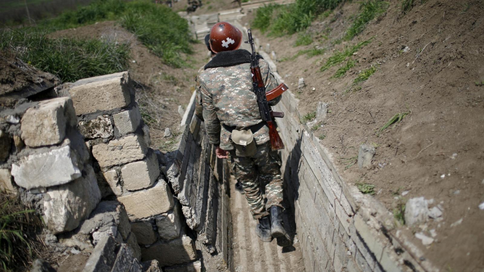 Nga thiết lập trung tâm ứng phó nhân đạo liên ngành ở Nagorno-Karabakh