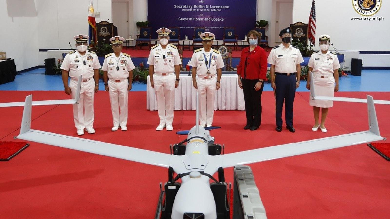 Mỹ chuyển giao hệ thống máy bay không người lái cho Hải quân Philippines