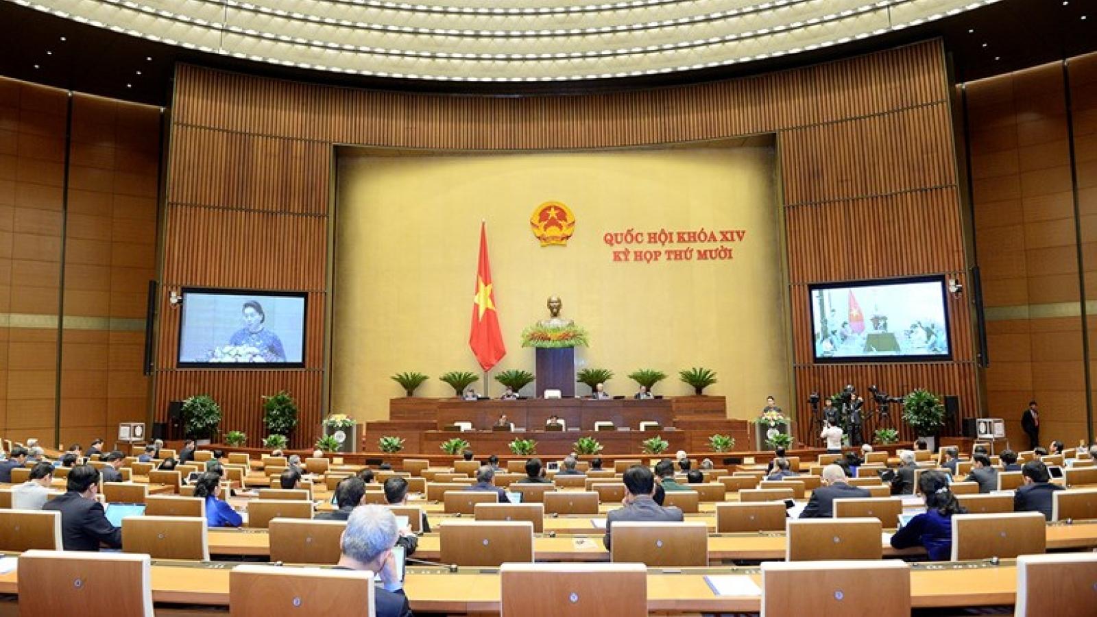 Quốc hội bắt đầu họp tập trung, quyết định một số nhân sự cấp cao
