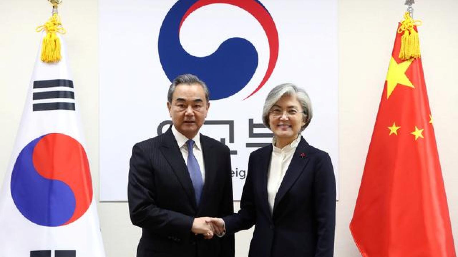 Ngoại trưởng Trung Quốc trực tiếp thăm Hàn Quốc