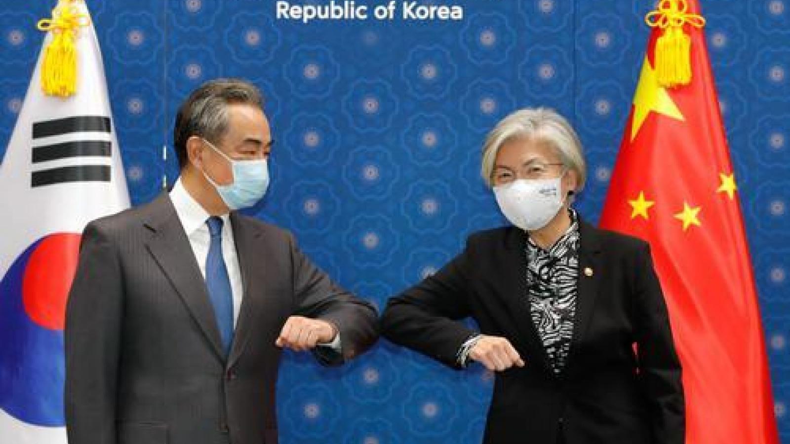 """Trung Quốc và Hàn Quốc sẽ khởi động cơ chế đối thoại ngoại giao an ninh """"2+2"""""""