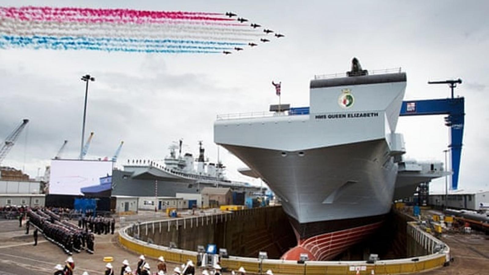 Anh tăng ngân sách quốc phòng, tham vọng khôi phục hải quân mạnh nhất châu Âu