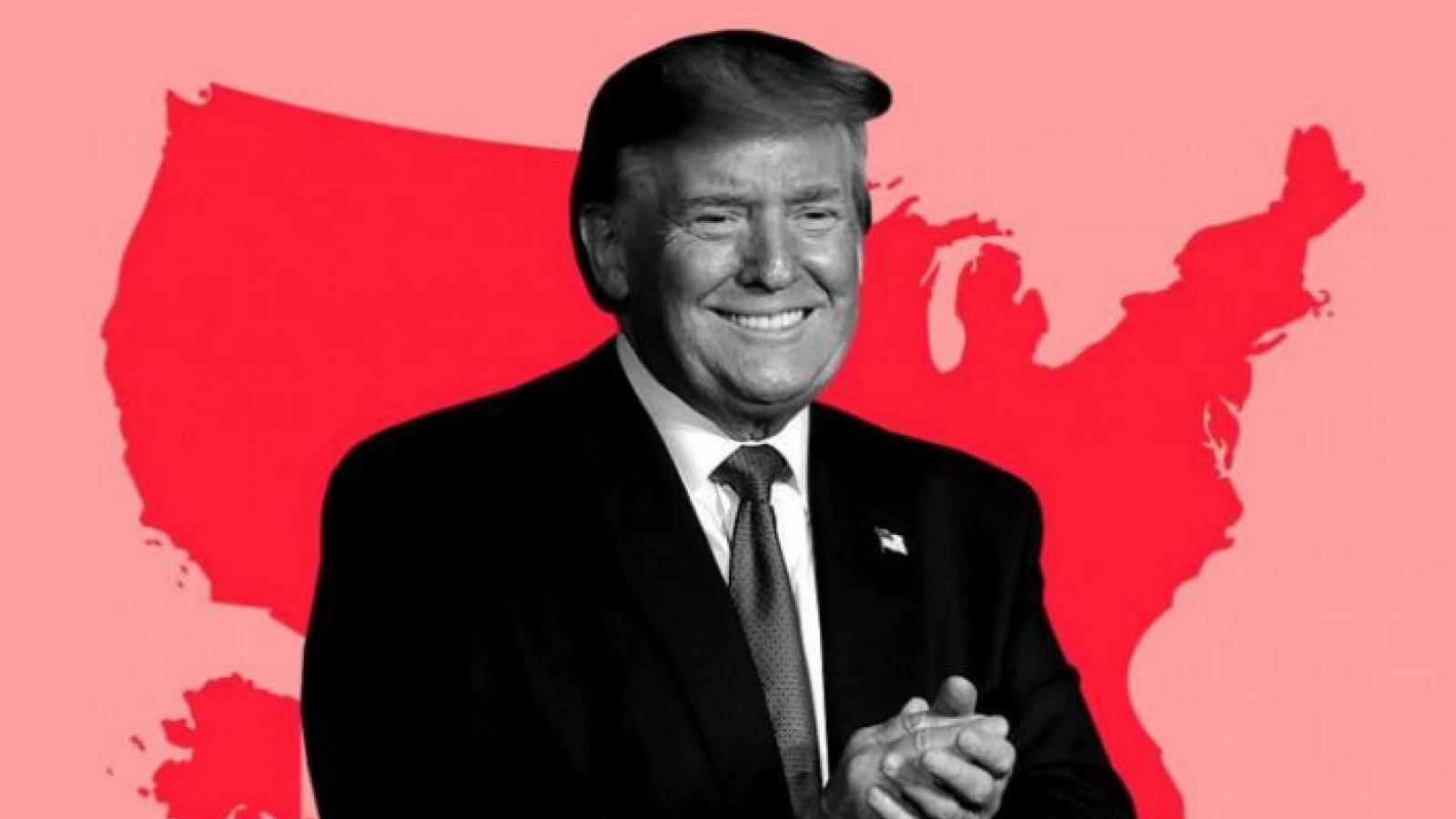 Ông Trump có bao nhiêu phần trăm chiến thắng ở các bang còn lại?