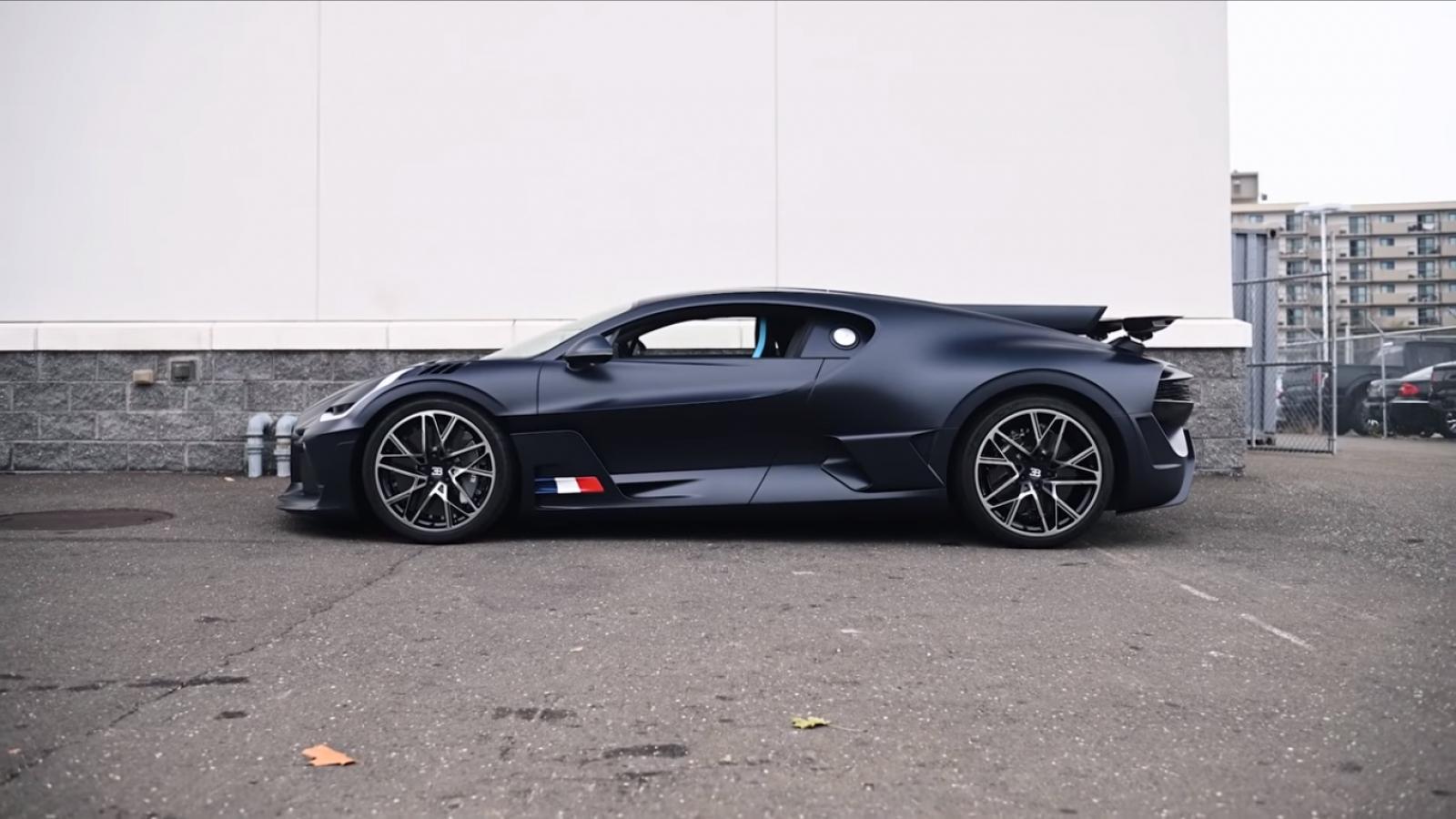 Video: Mở thùng Bugatti Divo giá hơn 136 tỷ đồng