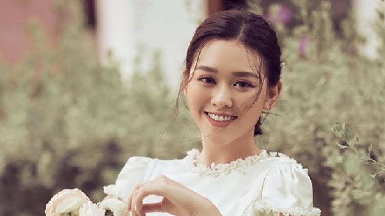 Á hậu Tường San xác nhận lên xe hoa vào cuối tháng 11