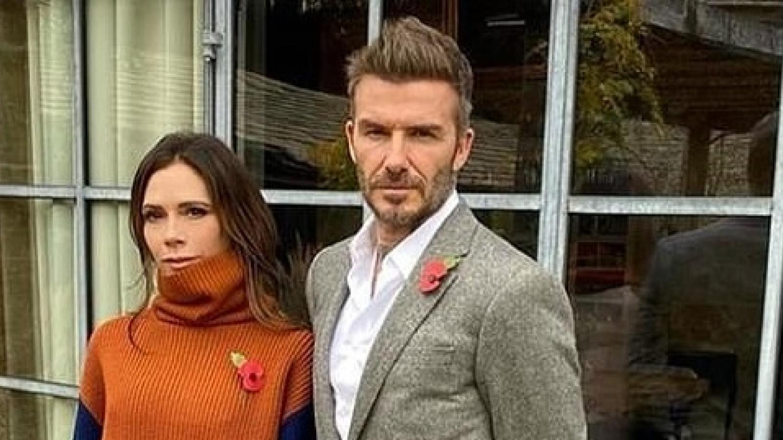 Victoria Beckham ví von chồng giống nhân vật phản diện trong phim hoạt hình
