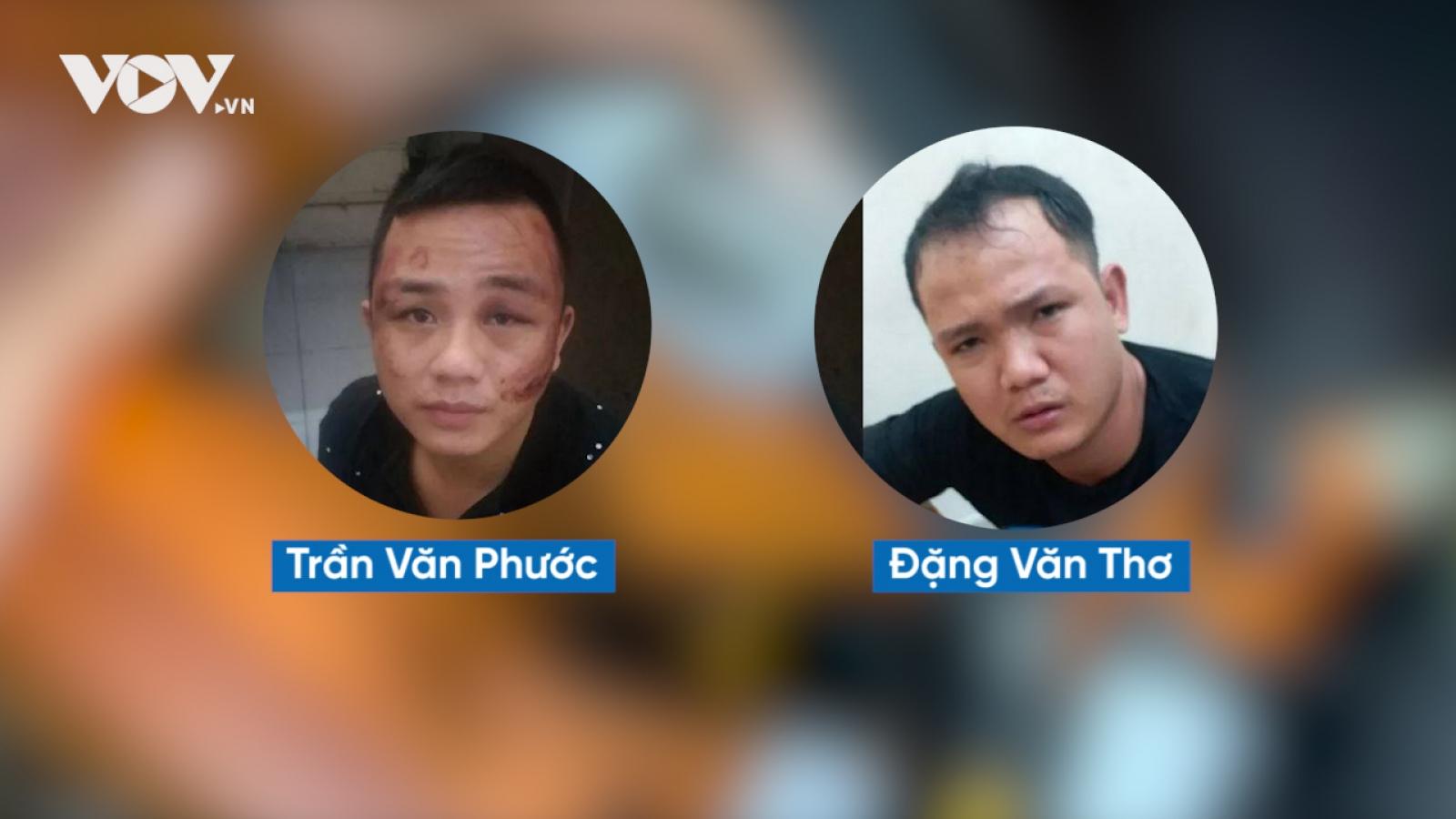 Hai tên trộm liều mạng nổ 3 phát súng vào trinh sát hình sự quận Thủ Đức