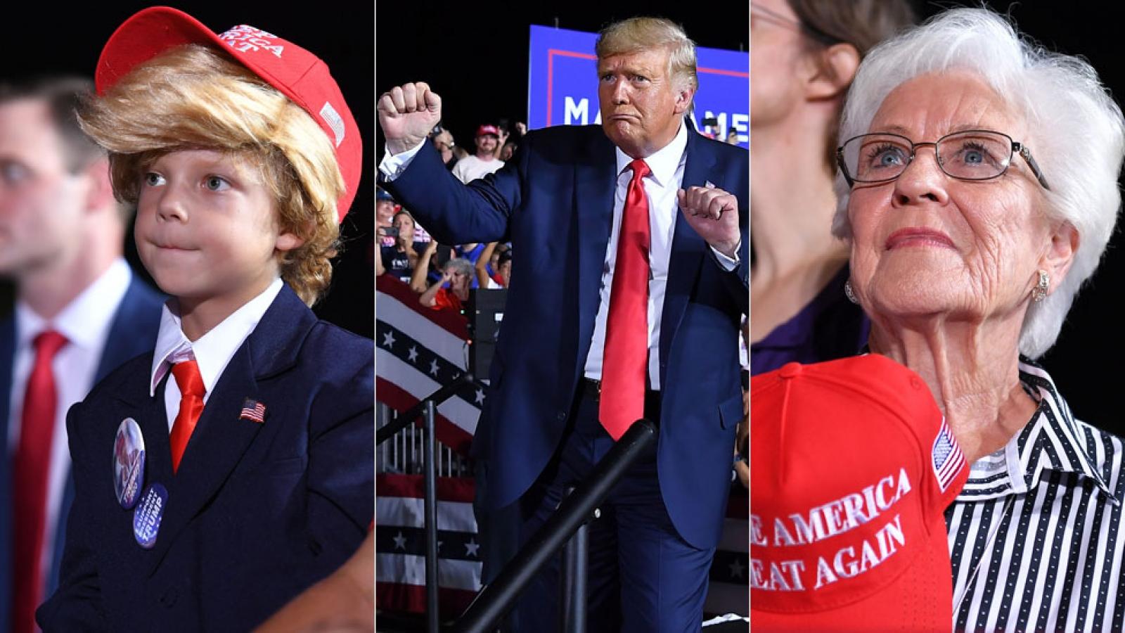 Bầu cử Mỹ: Con đường tái đắc cử của Tổng thống Trump hẹp dần