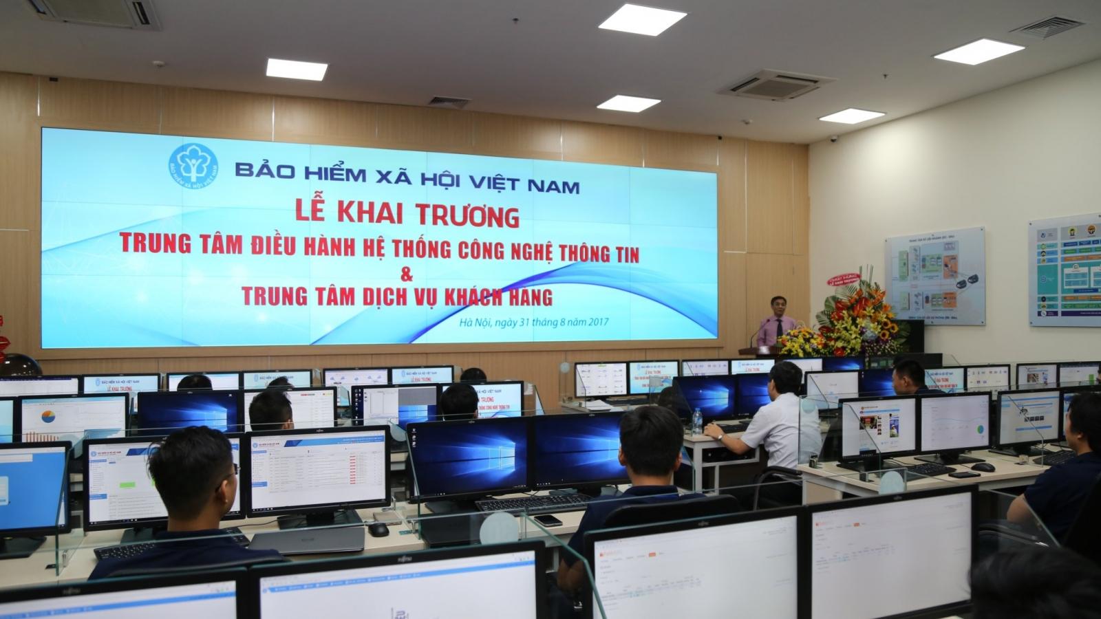 BHXH Việt Nam đứng đầu các cơ quan về ứng dụng công nghệ thông tin