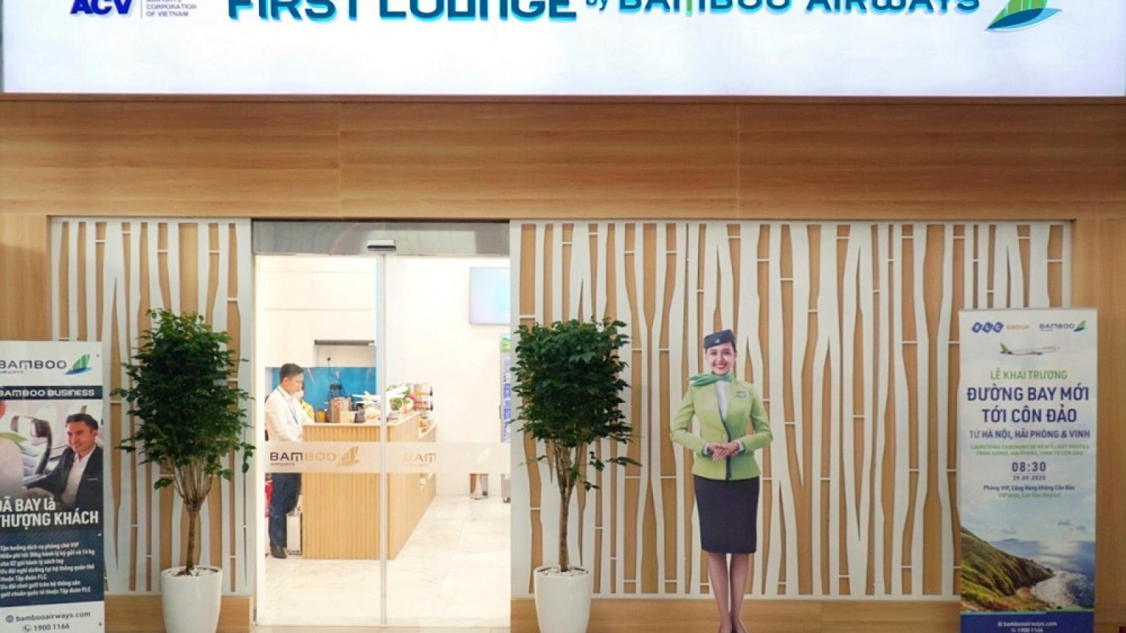 Bamboo Airways chính thức khai trương Phòng chờ Thương gia tại Côn Đảo
