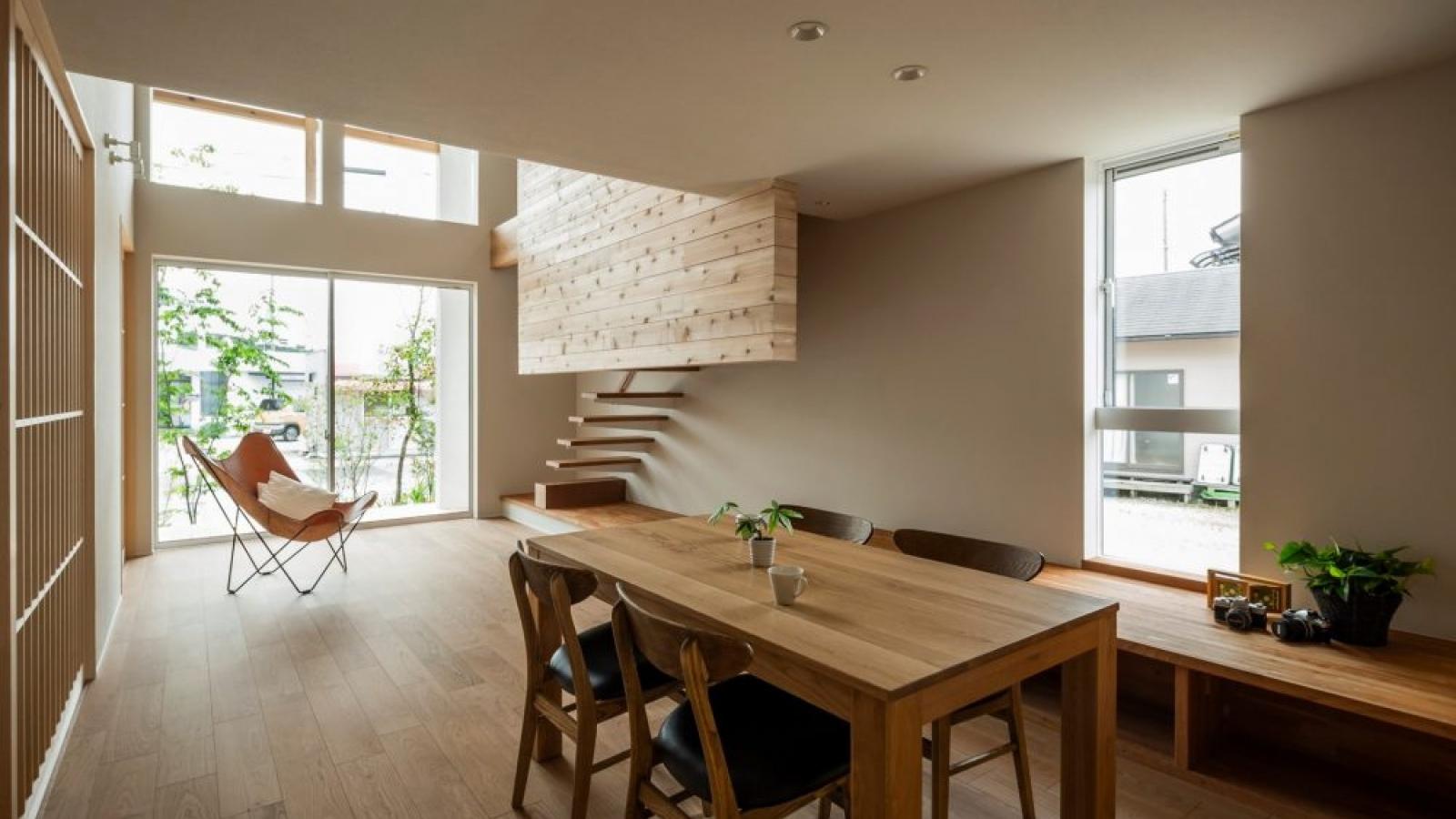 Ngôi nhà thiết kế tối giản mang ánh sáng, thiên nhiên ngập tràn