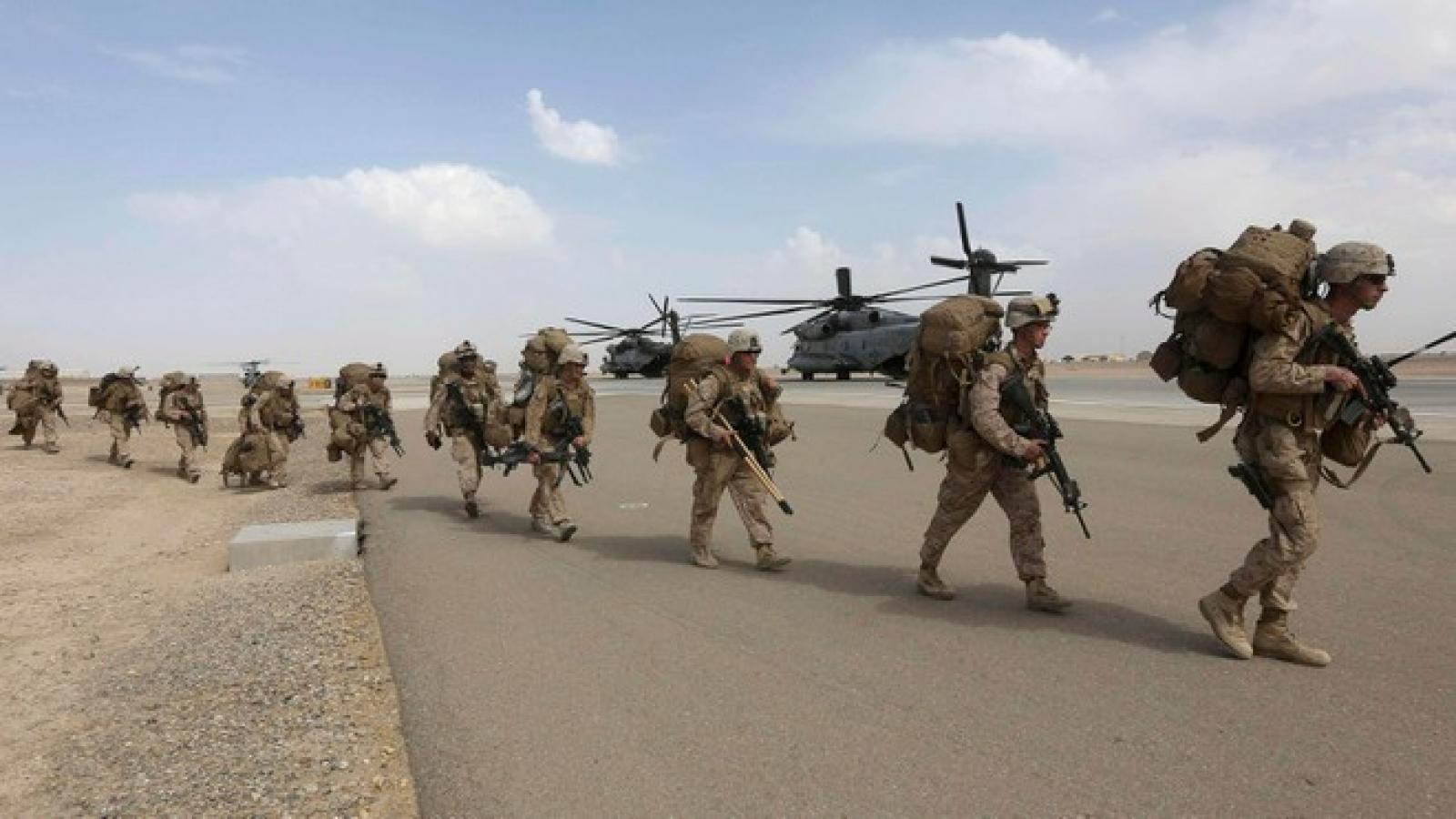 Mỹ tiếp tục rút quân khỏi Afghanistan và Iraq