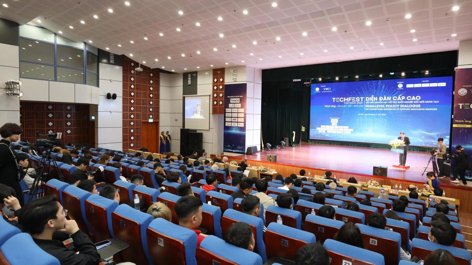 Kết nối cácnguồn lực đểhỗ trợ khởi nghiệp đổi mới sáng tạotại Việt Nam