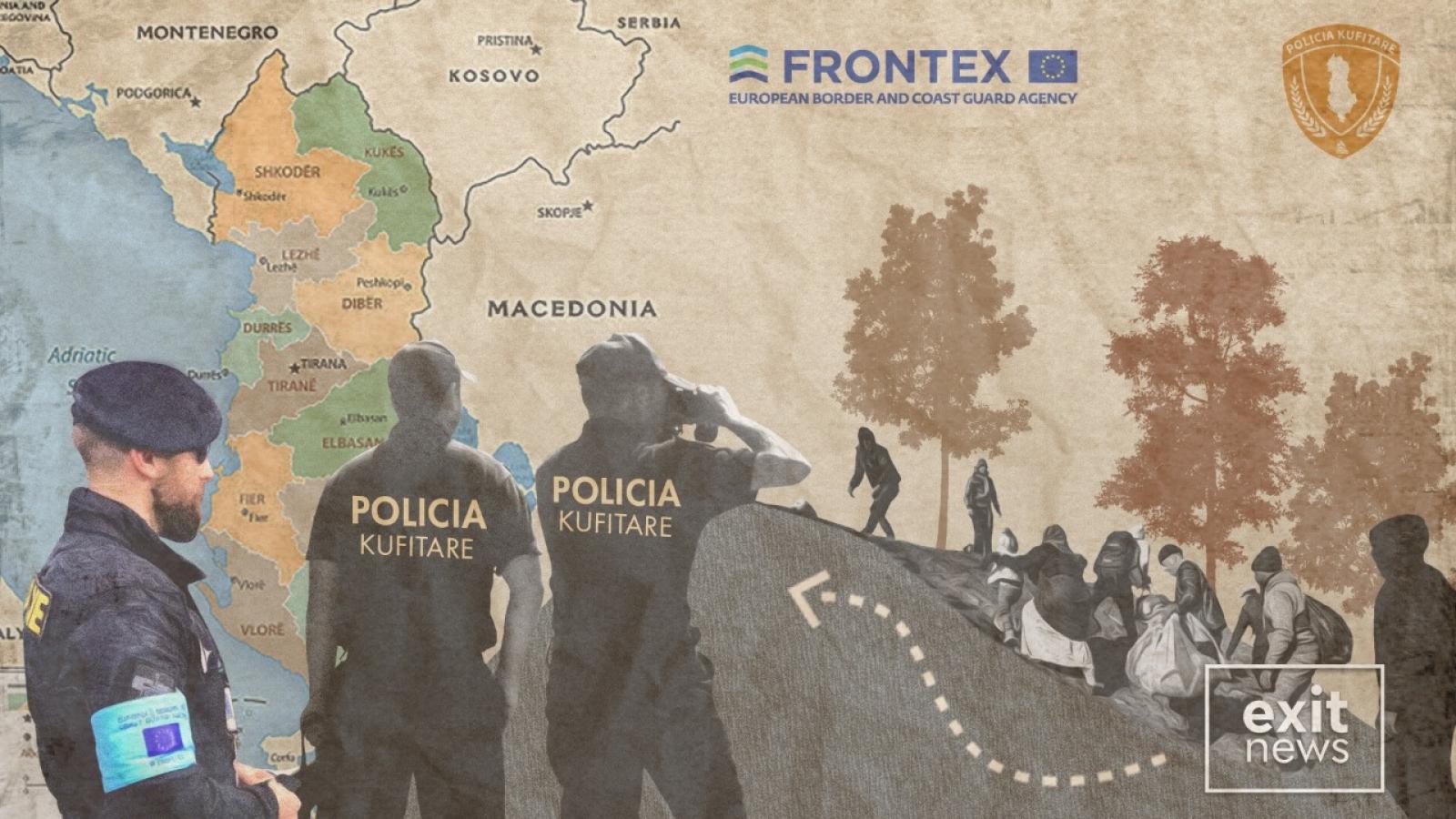 Hơn 8.000 người di cư trái phép bị bắt ở Albani trong năm 2020
