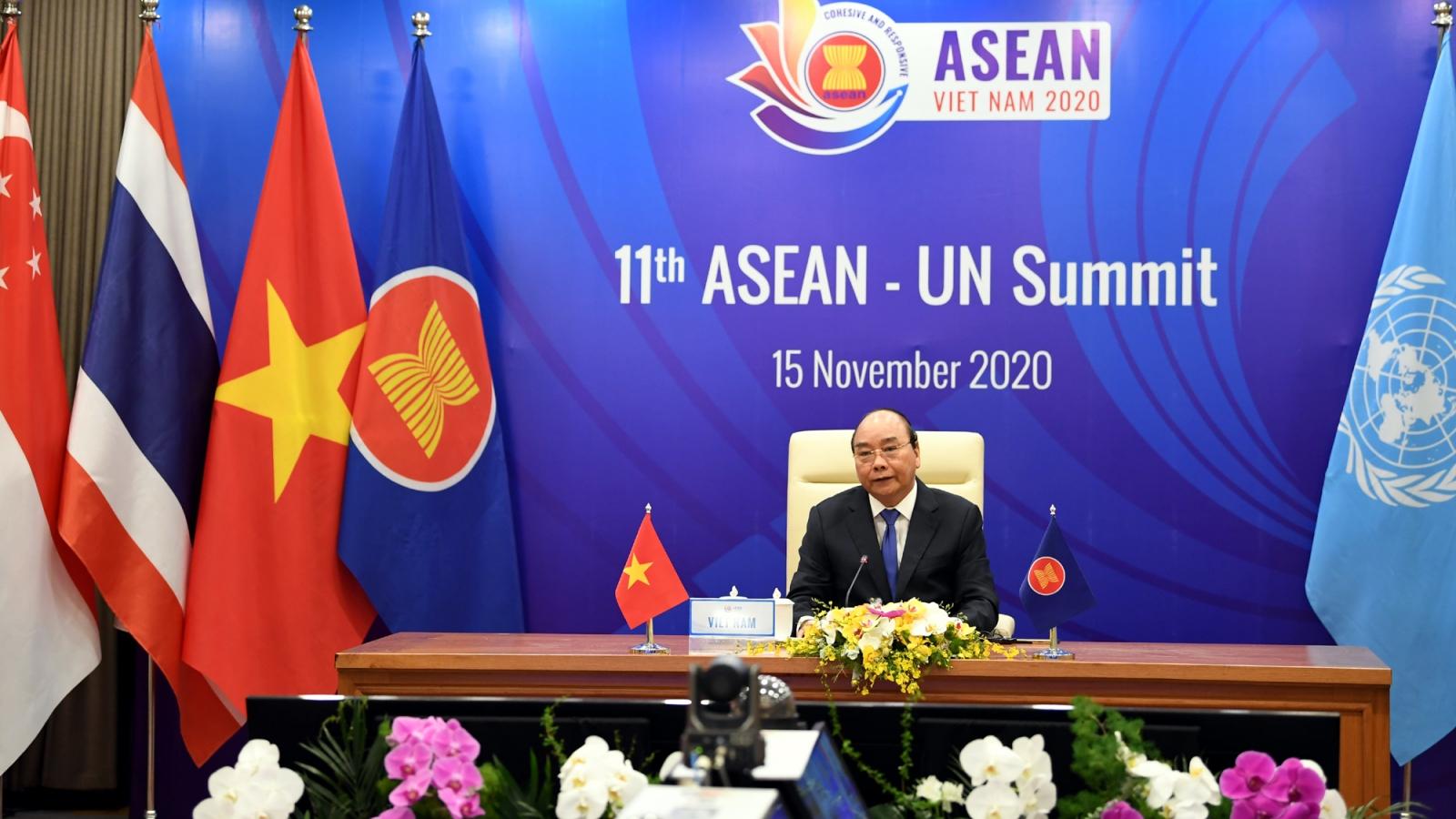 ASEAN và Liên Hợp Quốc hướng tới xây dựng khu vực Biển Đông hòa bình và ổn định