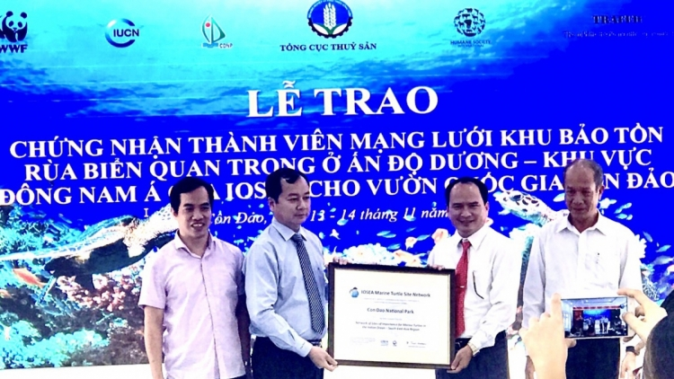 Con Dao Park officially joins IOSEA turtle conservation network