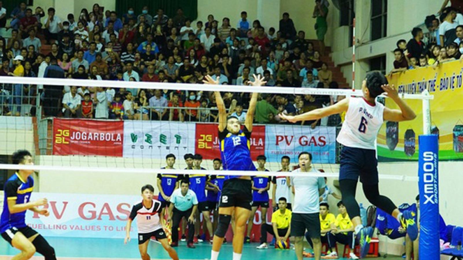 Border and Vietinbank triumph at national U23 volleyball championships