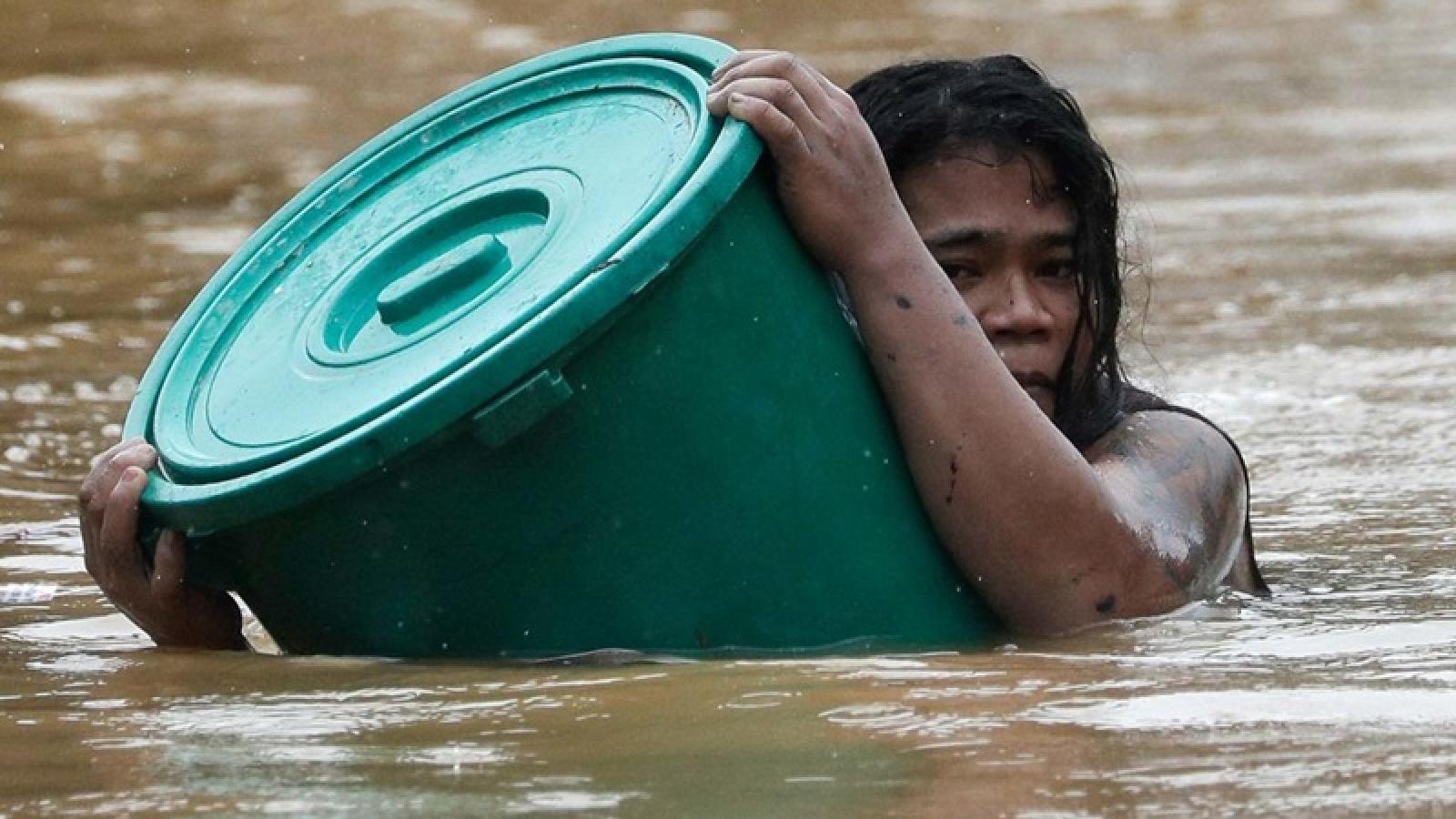 Bão Vàm Cỏ làm chết 67 người ở Philippines
