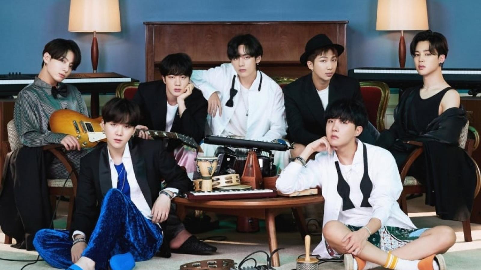 """BTS lập kỷ lục công chiếu mới với MV """"Life goes on"""""""