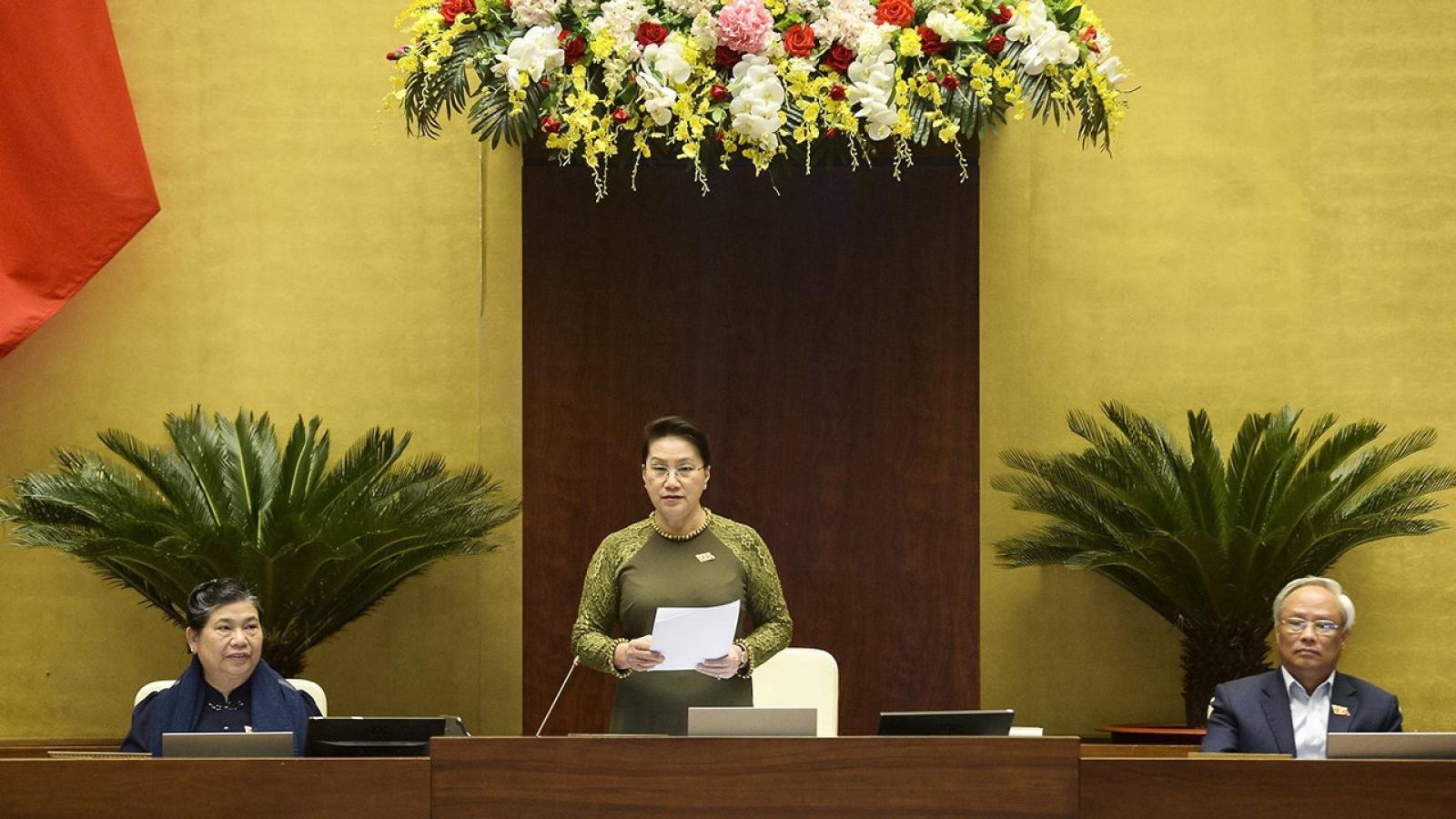 Kết quả của phiên chất vấn sẽ là cầu nối giữa hai khóa Quốc hội