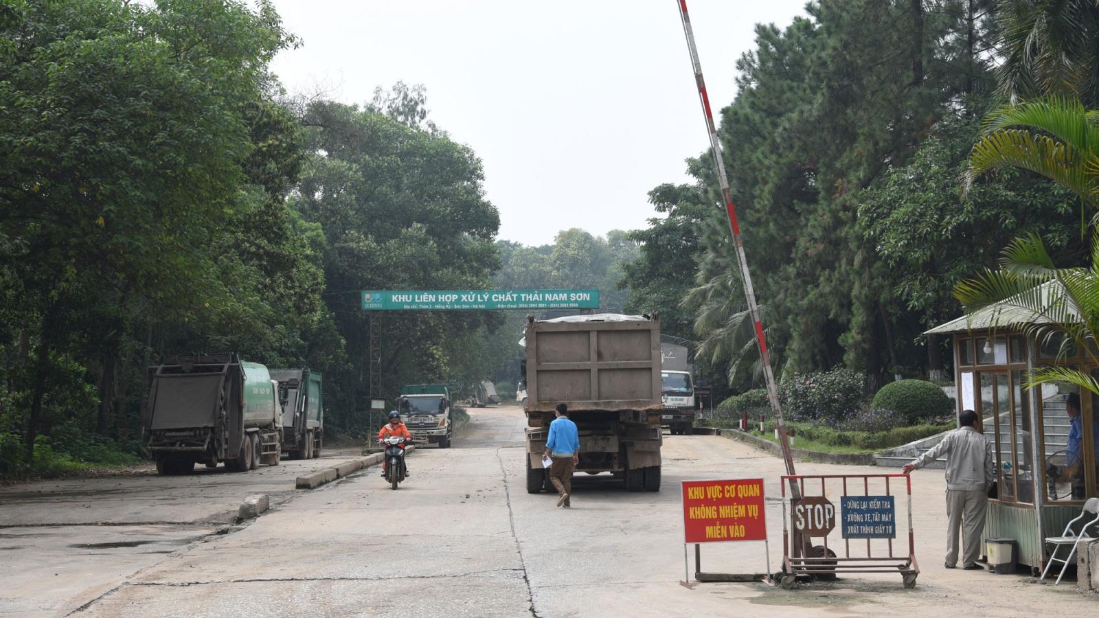 Hà Nội tiếp tục đẩy nhanh việc xử lý vướng mắc tại bãi rác Sóc Sơn