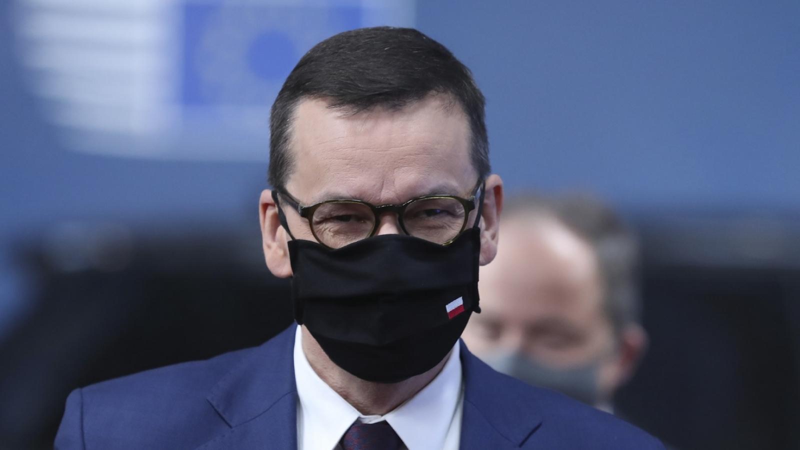Ba Lan phản đối điều kiện giải ngân các gói cứu trợ của EU