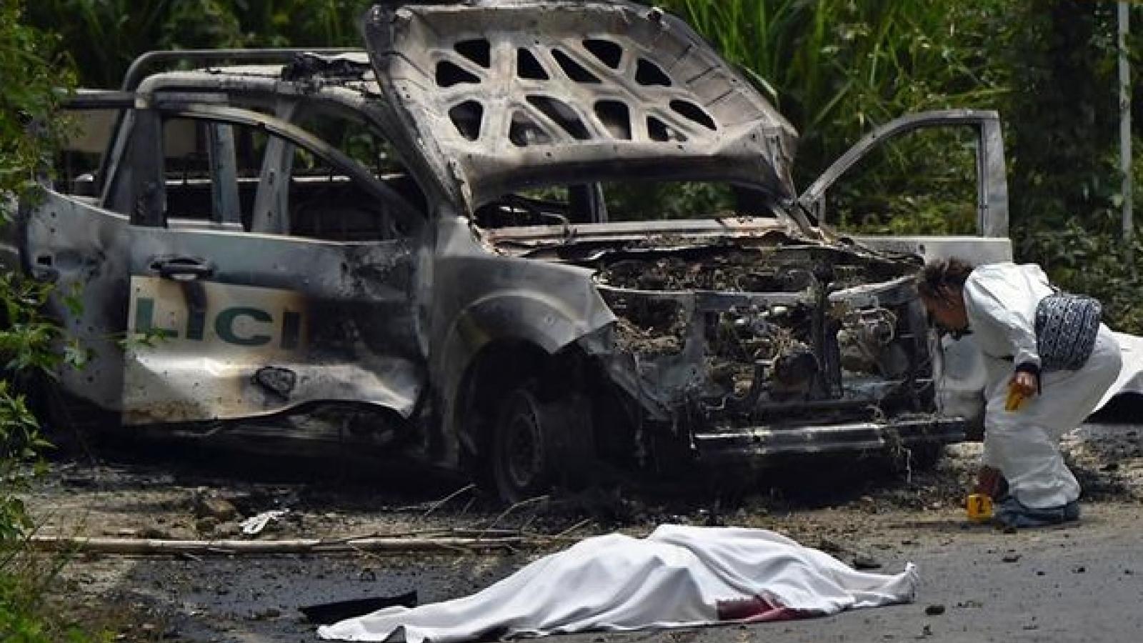 Gia tăng các vụ thảm sát ở Colombia liên quan hoạt động buôn lậu ma túy