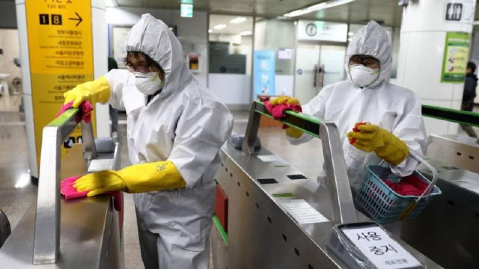 Số ca mắc Covid-19 tại Hàn Quốc có xu hướng giảm