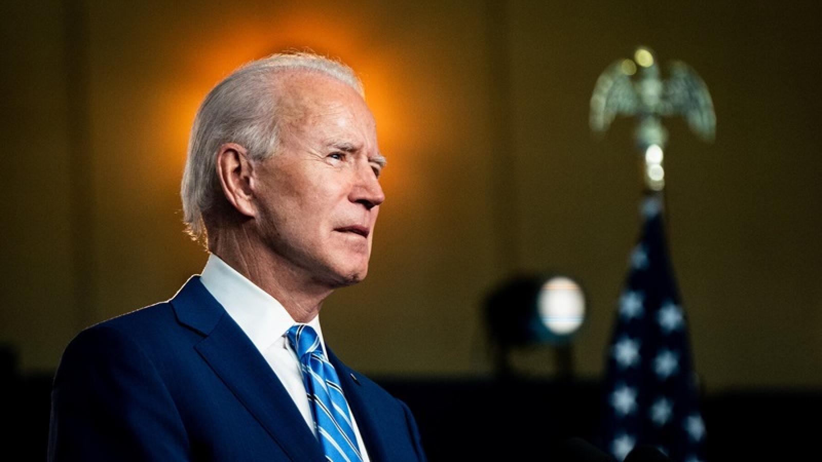 """Ứng viên Joe Biden cho biết sắp """"công bố nội các Mỹ"""""""