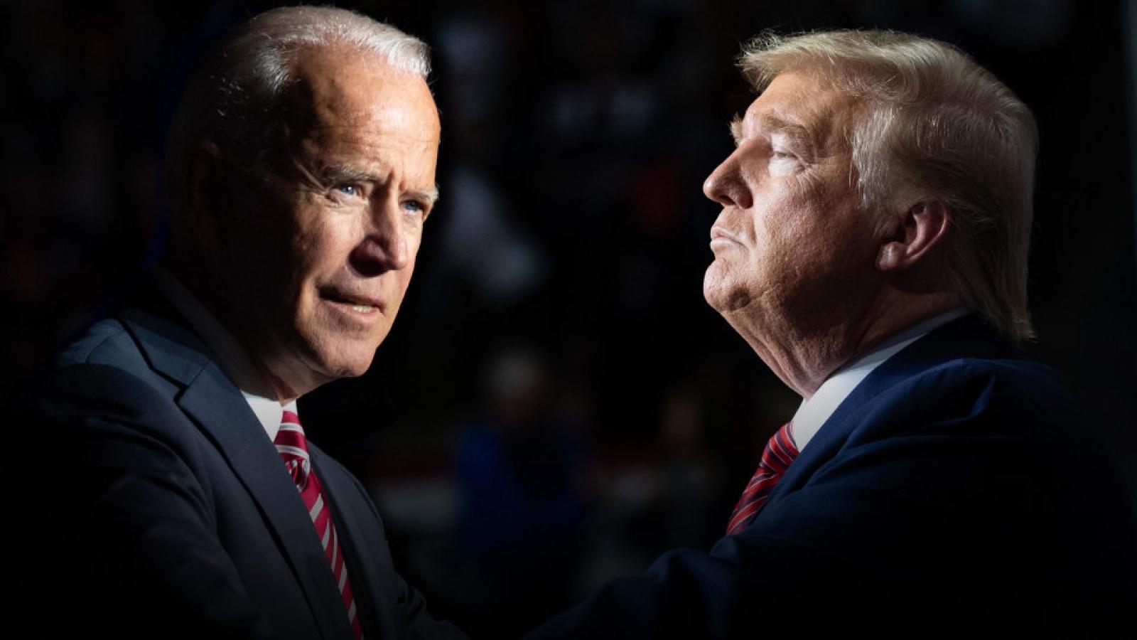 """Cử tri Mỹ """"nín thở"""" theo dõi kết quả bầu cử Tổng thống Mỹ"""