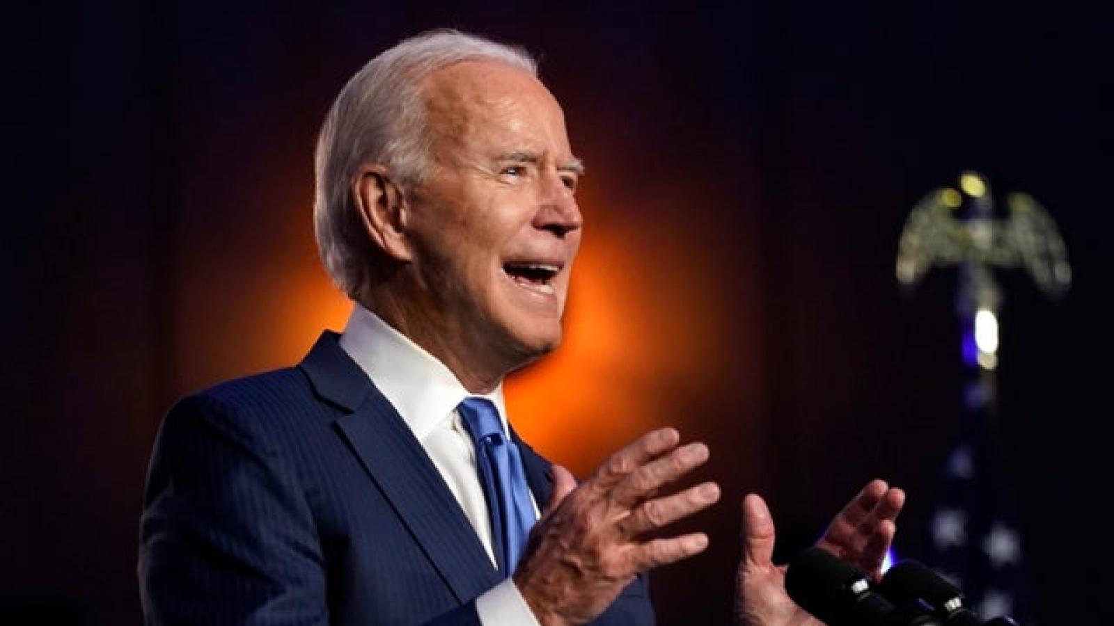 """Ông Biden: """"Tôi sẽ là Tổng thống của tất cả người dân Mỹ"""""""