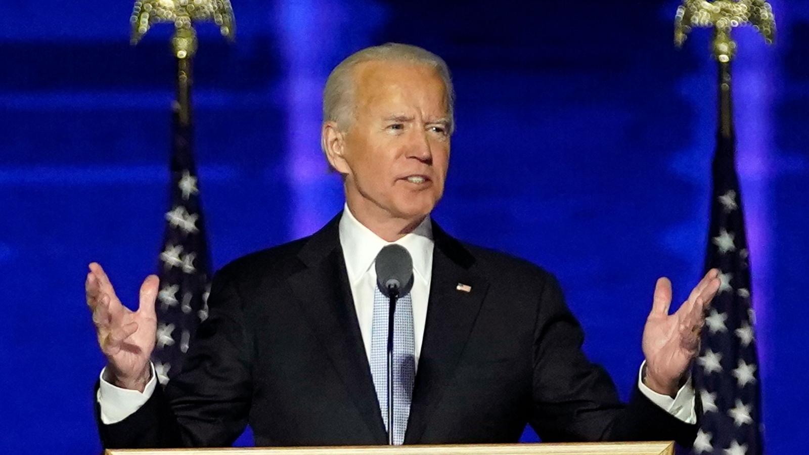 Ông Biden: Đây là thời điểm để nước Mỹ hàn gắn vết thương