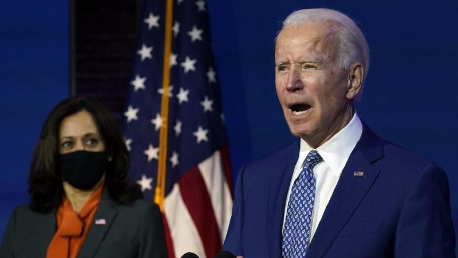 Ông Biden chỉ định một số vị trí chủ chốt trong nội các mới